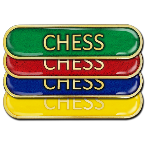 Chess Bar Badge by School Badges UK