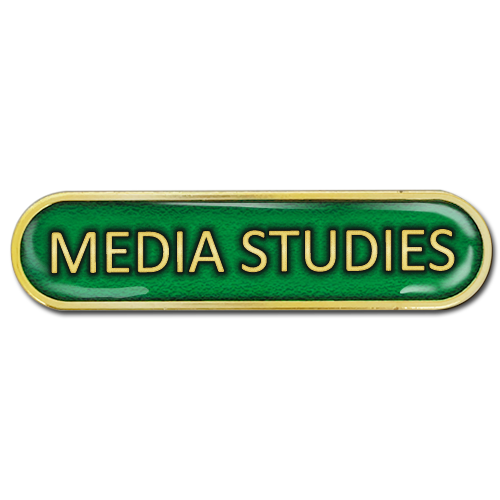 Media Studies Bar Badge by School Badges UK