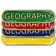 Geography Bar Badge