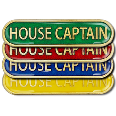 House Captain Bar Badge by School Badges UK