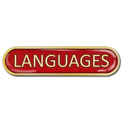 Languages Bar Badge by School Badges UK