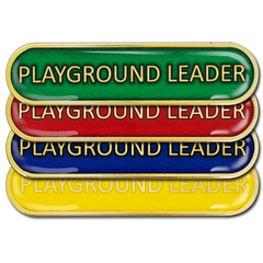 Playground Leader Bar Badge by School Badges UK