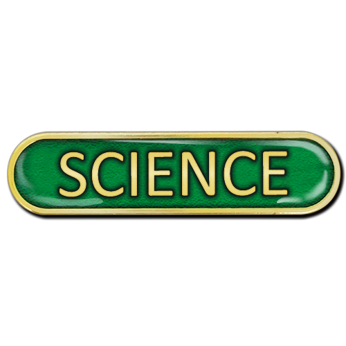 Science Bar Badge by School Badges UK