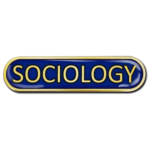Sociology Bar Badge by School Badges UK