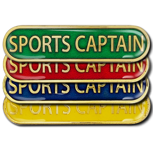 Sports Captain Bar Badge by School Badges UK