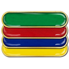Plain Bar Badge by School Badges UK