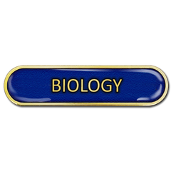 Biology Bar Badge