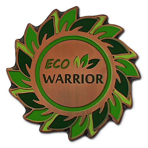 Eco Warrior Badge by School Badges UK