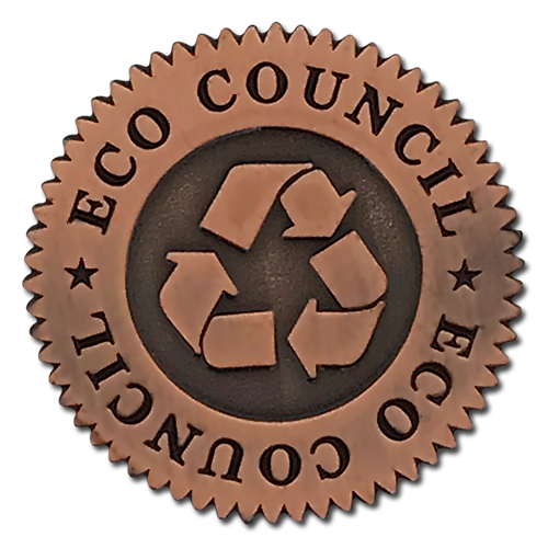 Eco Council Badge by School Badges UK