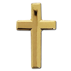 Gold Cross Badge by School Badges UK