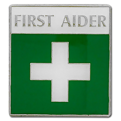 First Aider Badge by School Badges UK