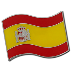 Spanish Flag Badge by School Badges UK