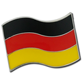 German Flag Badge