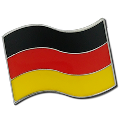 German Flag Badge by School Badges UK