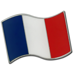 French Flag Badge by School Badges UK