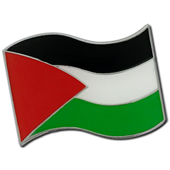 Palestine Flag Badge by School Badges UK