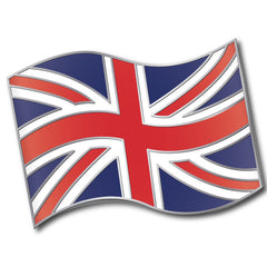 Union Jack Flag Badge by School Badges UK
