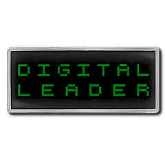 Digital Leader Pixel Badge