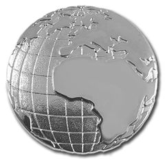 Geography Globe Badge by School Badges UK
