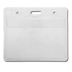 Clear ID Plastic Card Wallet by School Badges UK