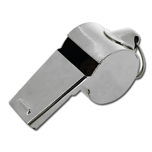 Steel 'Referee' Whistle by School Badges UK