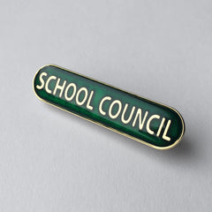 Green School Council Bar Badge **SALE ITEM - 50% OFF**
