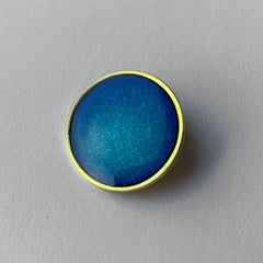 Blue 'Plain' Round Badge **SALE ITEM - 50% OFF** by School Badges UK