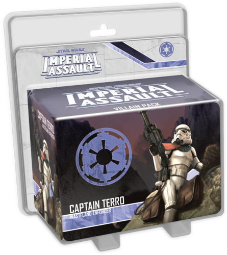 Star Wars: Imperial Assault - Captain Terro (Villain)