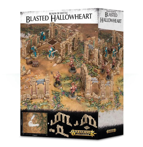 Warhammer Age of Sigmar: Realm of Battle - Blasted Hallowheart