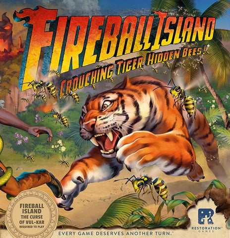 Fireball Island: The Curse of Vul Kar - Crouching Tiger Hidden Bees!
