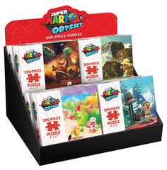 Jigsaw Puzzle: The OP - Super Mario Odyssey Set of 8 (2 of Each Set) (200 Pieces)