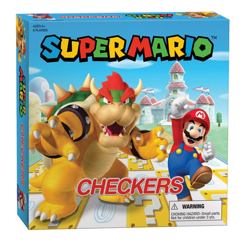 Checkers: The OP - Super Mario Vs Bowser