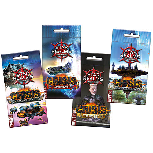 Star Realms - Crisis Expansion Set (x4 Packs)