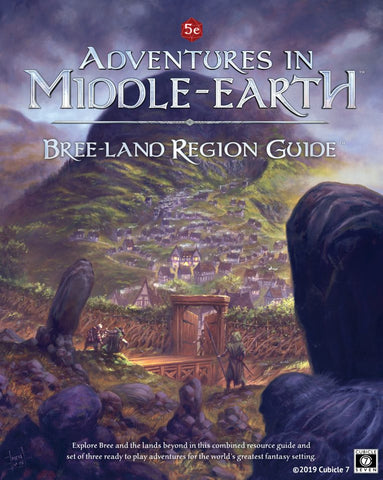 LOTR RPG: Adventures in Middle Earth - Breeland Region Guide