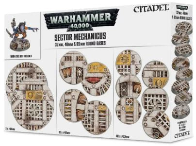 Warhammer 40k: Sector Mechanicus - Imperial Bases