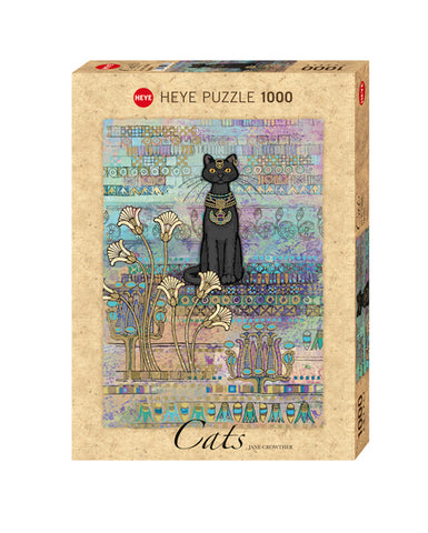 Jigsaw Puzzle: HEYE - Cats Egyptian (1000 Pieces)