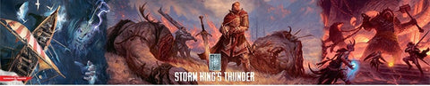 D&D RPG: Storm Kings Thunder: Campaign DM Screen
