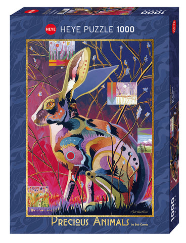 Jigsaw Puzzle: HEYE - Precious Animals Ever Alert (1000 Pieces)