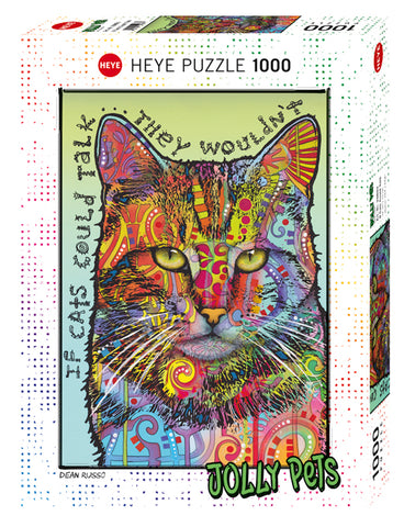 Jigsaw Puzzle: HEYE - Jolly Pets If Cats Could Talk (1000 Pieces)