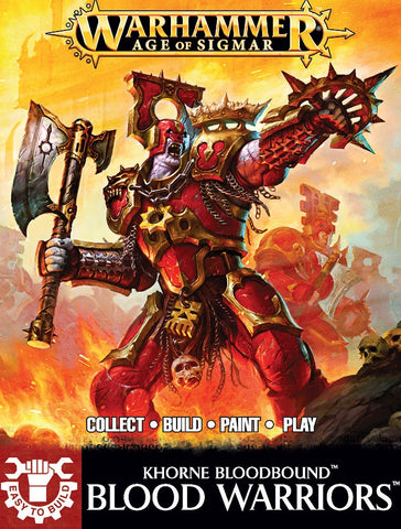 WH AoS: Khorne Bloodbound - Blood Warriors (Easy to Build)