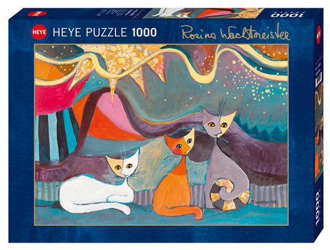 Jigsaw Puzzle: HEYE - Wachtmeister Yellow Ribbon (1000 Pieces)