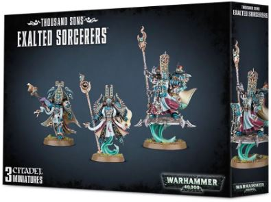 WH 40K: Thousand Sons - Exhalted Scorcerers