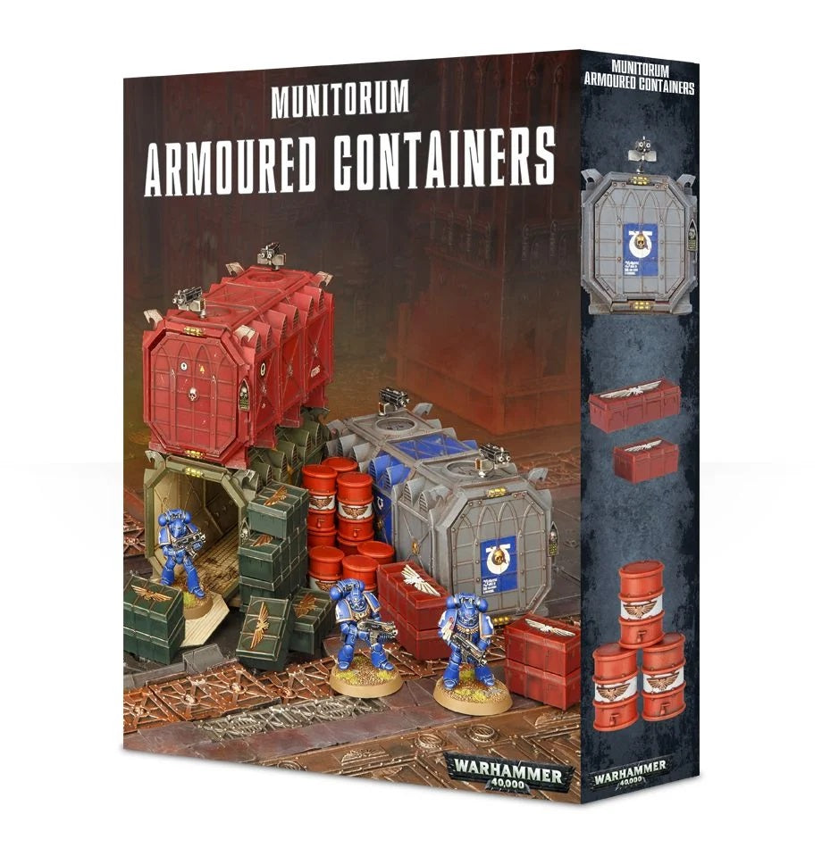 WH 40K: Munitorum Armoured Containers