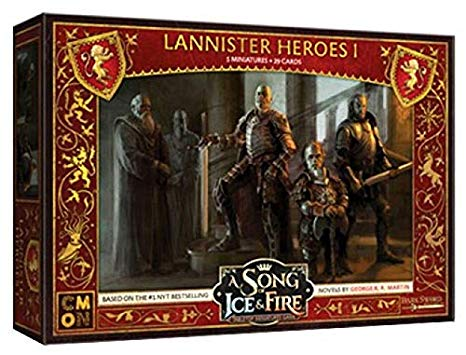 A Song of Ice and Fire: Lannister Hero Pack 1