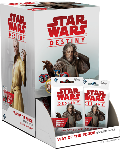 Star Wars: Destiny - Way of the Force Booster (Display)