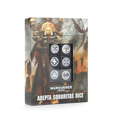 WH 40K: Adepta Sororitas Dice Set