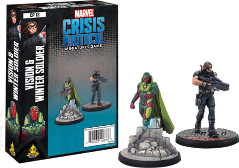 Marvel: Crisis Protocol - Vision & Winter Soldier