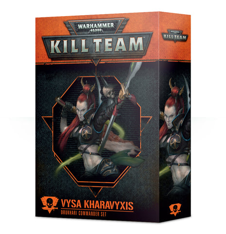 Warhammer 40K: Kill Team - Commander Vysa Kharavyxis