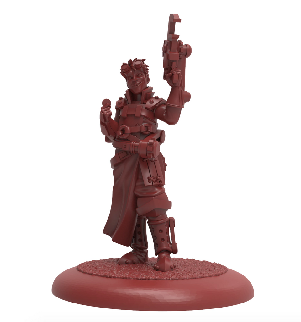 Guild Ball: Engineer's Guild - Nomad