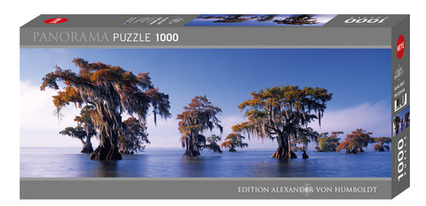 Jigsaw Puzzle: HEYE - Bald Cypresses (1000 Pieces)